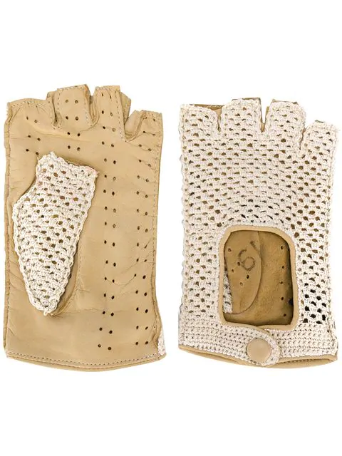 d88f6bb1e8191 Gala Gloves Driving Fingerless Gloves - Neutrals | ModeSens