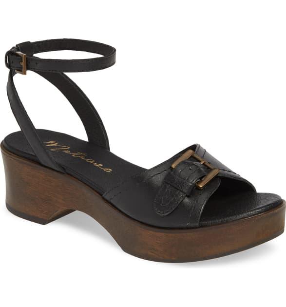 Matisse Dutch Sandal In Black