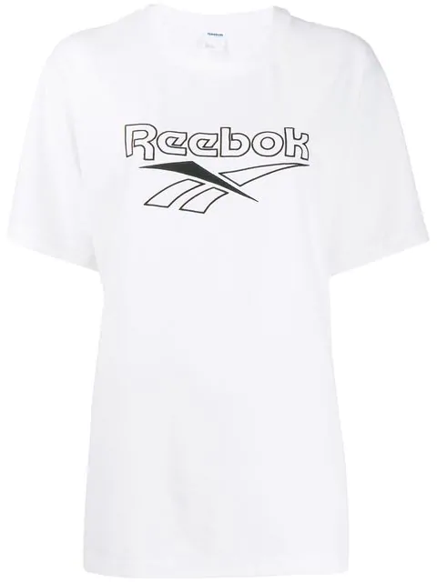 Reebok Oversize Fit T-shirt In White
