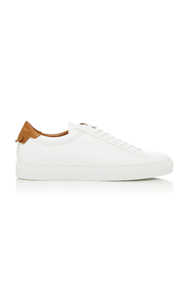 Givenchy Leather Low-Top Sneakers In White