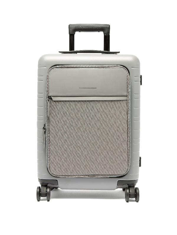 Horizn Studios M5 Smart Cabin Suitcase In Grey