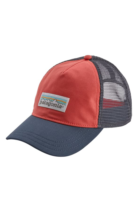 Patagonia Trucker Hat - Red In Spiced Coral