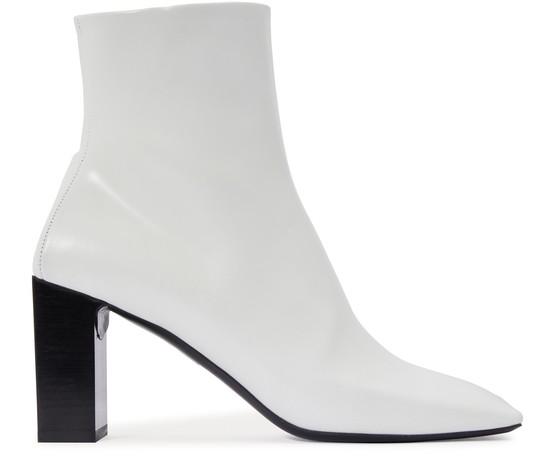 Balenciaga Double Square Boots In 9000