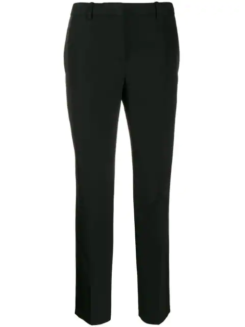 Givenchy Satin-Trimmed Wool-Twill Tuxedo Trousers In Black