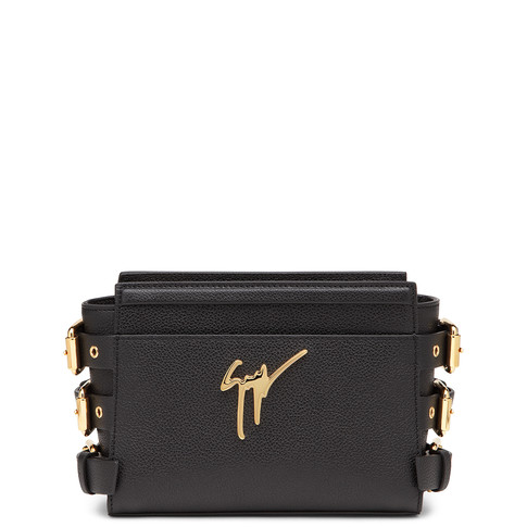 Giuseppe Zanotti As The Mini Version Of The Signature G#17 Bag, His Piece Is Designed With Sleek Style In Mind. In Nero