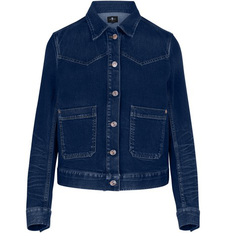 7 For All Mankind The Western Jacket In Canyon