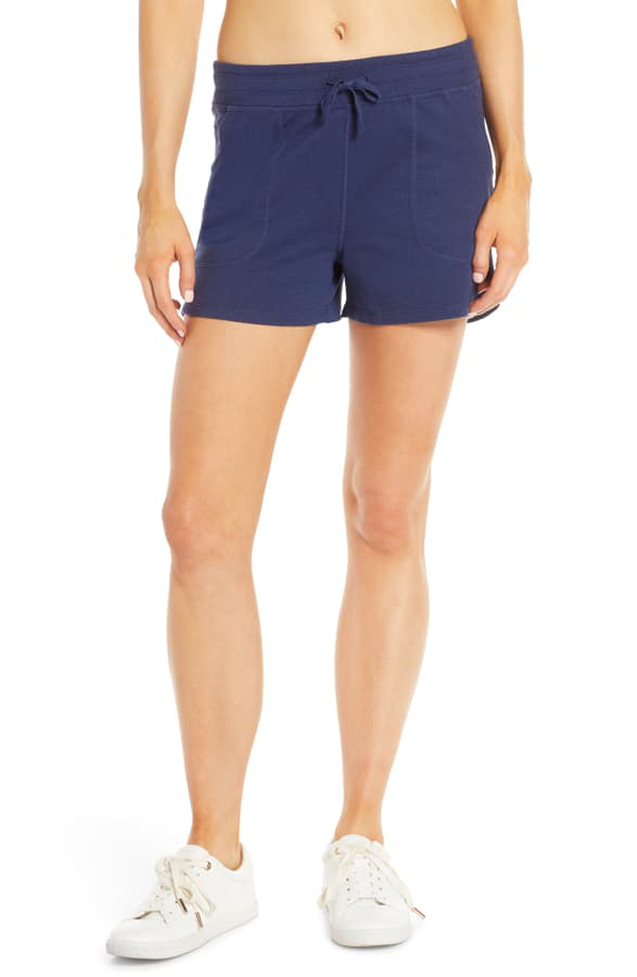 Patagonia Ahnya Shorts In Navy Blue