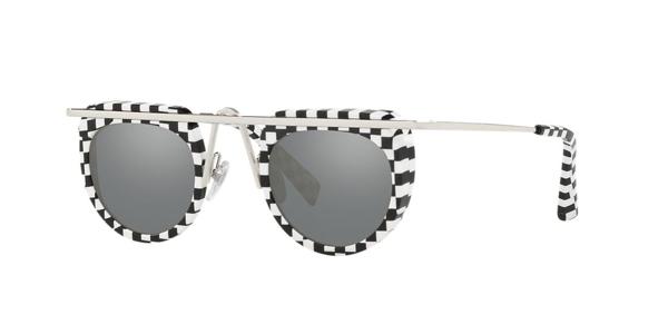 Alain Mikli Aujourd D Hui Sunglasses In Silver