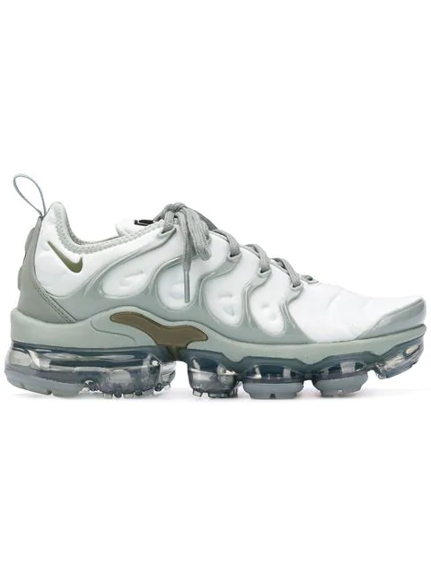 the latest 57d19 95f9b Women's Air Vapormax Plus Running Shoes, Grey - Size 5.0 in Green