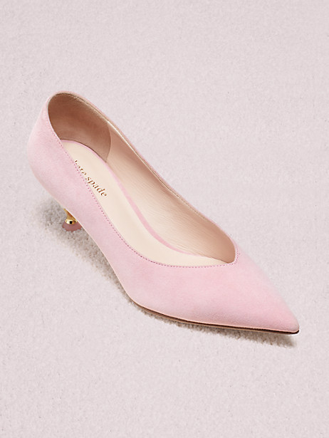 Kate Spade Coco Heels In Rococo Pink
