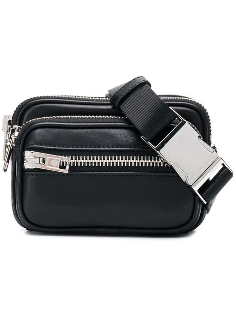 Alexander Wang Attica Lambskin Leather Belt Bag - Black