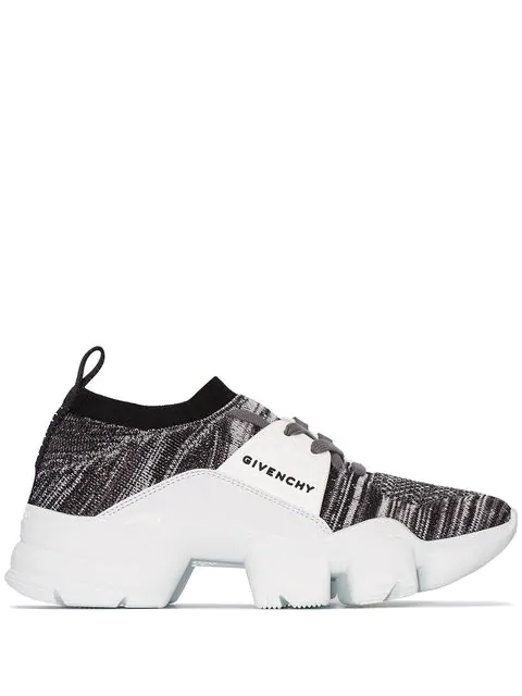 Givenchy Low-Top Sneakers Jaw Knittet In White