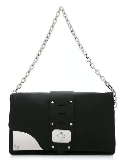 Versace Stardvst Shoulder Bag In Black