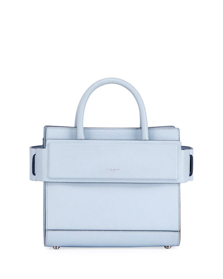 2339f84a0dd4 Givenchy Mini Horizon Grained Calfskin Leather Tote - Pink In Baby Blue