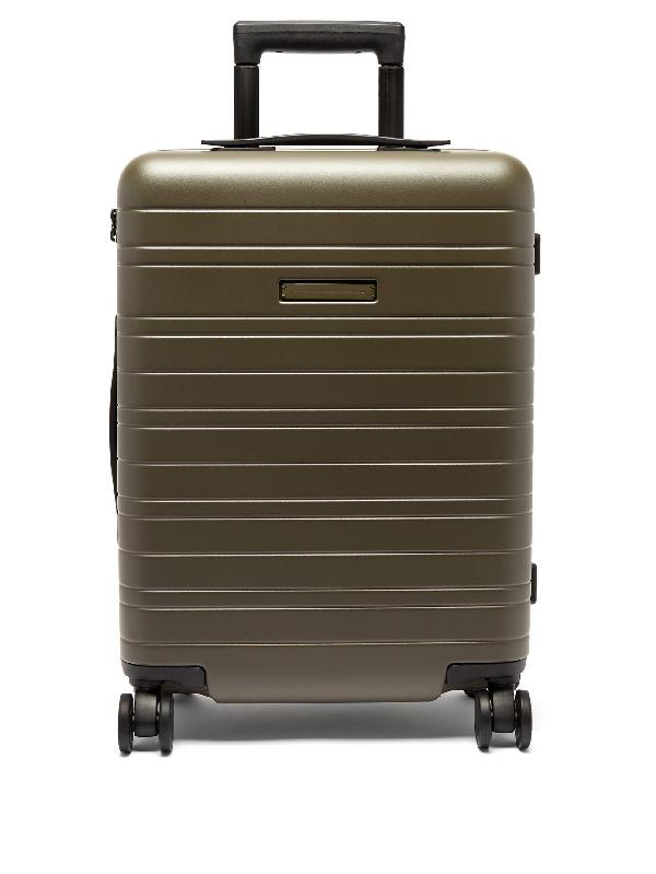 Horizn Studios H5 Smart Cabin Suitcase In Khaki