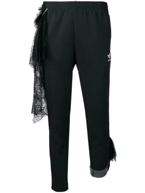 Tiger In The Rain X Adidas Track Trousers In Black