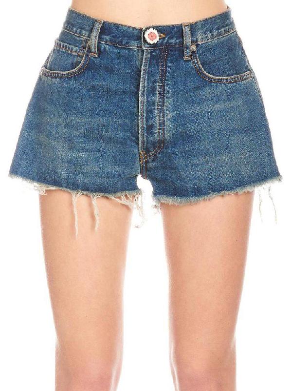 Alanui Shorts In Blue