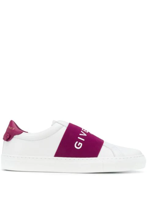 Givenchy Urban Street White Leather Trainers