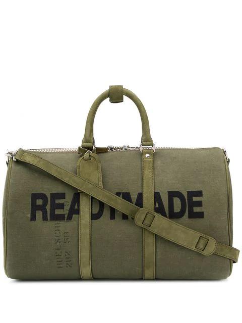 Readymade Logo-printed Tote Bag In Khaki