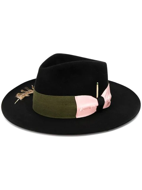 Nick Fouquet Felt Fedora - Black