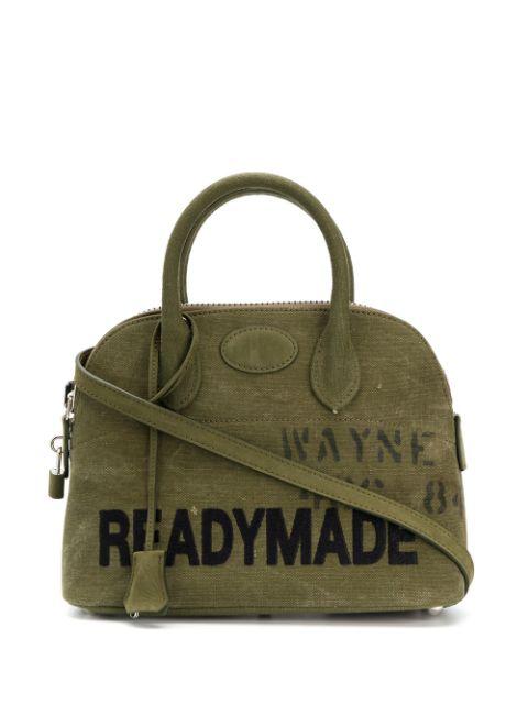 Readymade Logo Tote Bag In Green