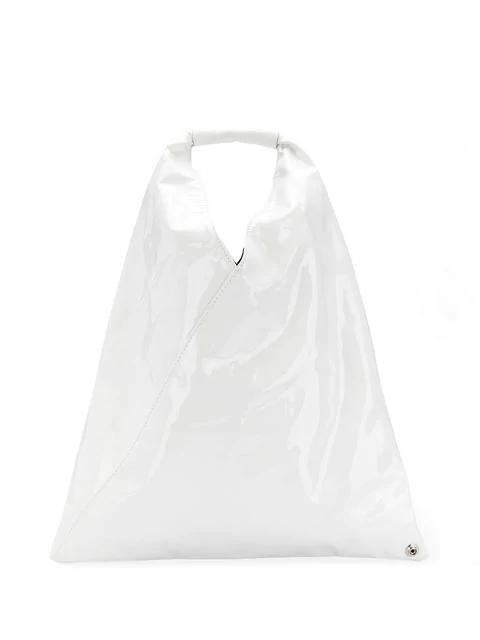 Mm6 Maison Margiela Japanese Tote Bag In White