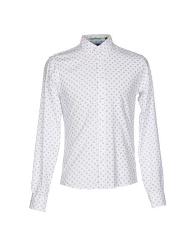 Scotch & Soda Patterned Shirt In White