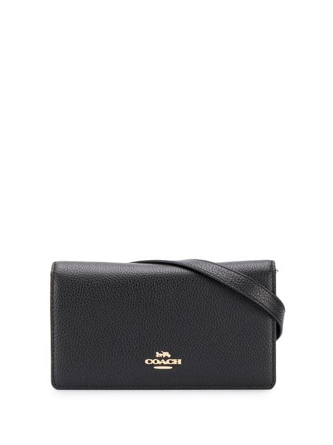 Coach Convertible Belt Bag In Black