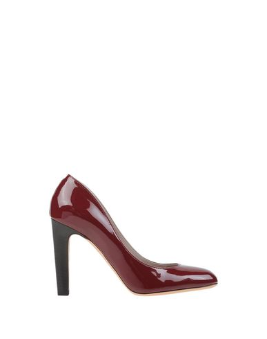 Marc Jacobs Pump In Brick Red
