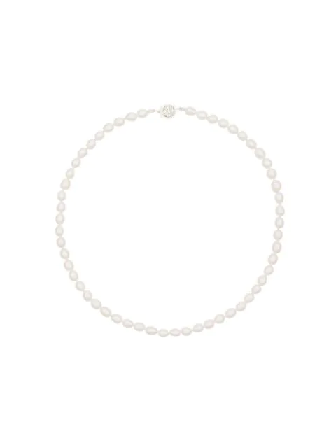 Holly Ryan Pearl Strand Necklace In White