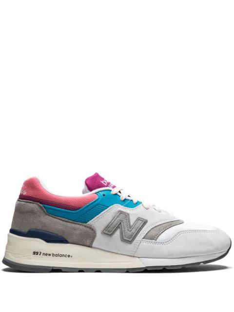 504073a7 New Balance 997 Aime Leon Dore Sneakers - Grey | ModeSens