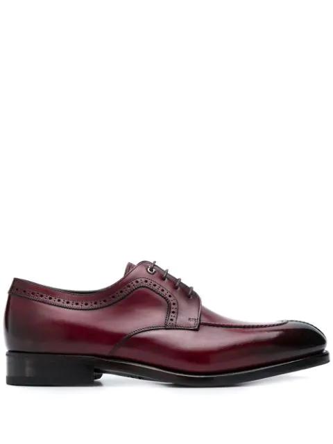 Salvatore Ferragamo Derby Shoes - Red