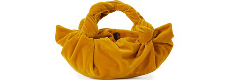 The Row Ascot Two Handbag In Mineral Yellow