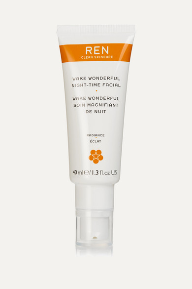 Ren Clean Skincare Wake Wonderful Night-time Facial, 40ml - One Size In Colorless
