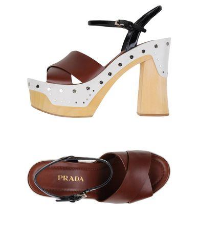 Prada Sandals In Cocoa