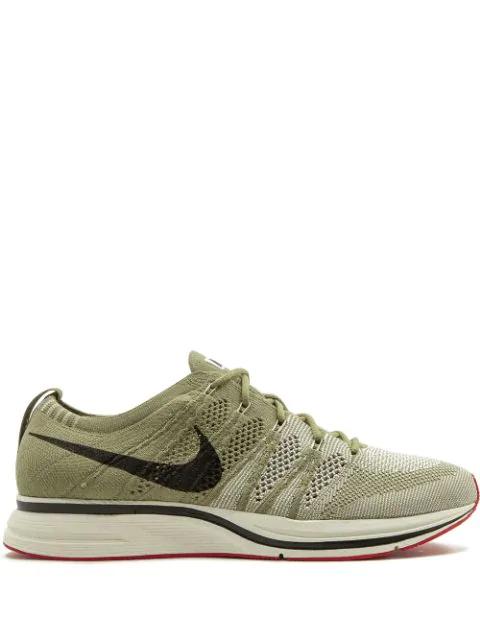 Nike Flyknit Trainer Sneakers In Green