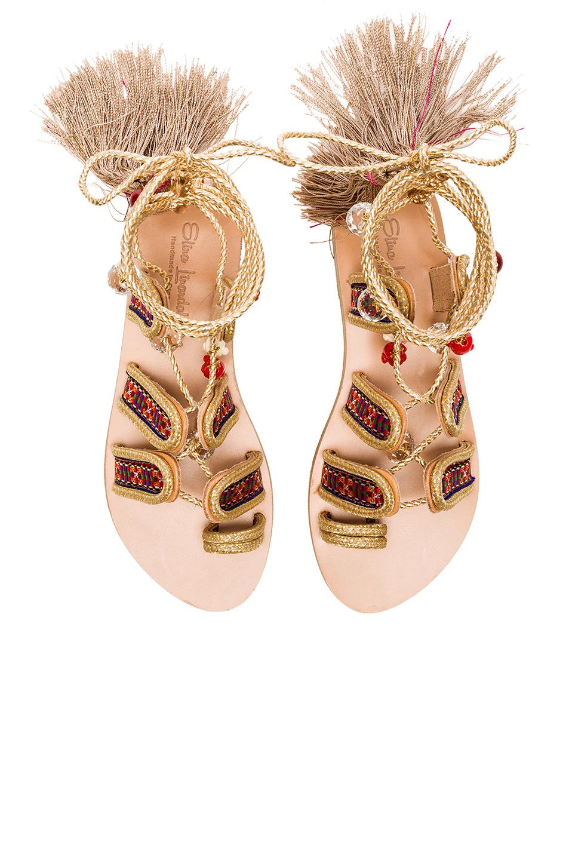 Elina Linardaki The Great Gatsby Sandal In Multi