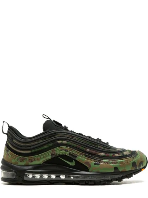 release date: reputable site well known Air Max 97 Premium 97 Sneakers in Pale Olive/Black-Safari