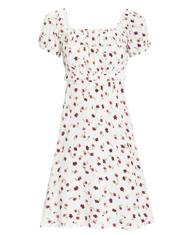 Flynn Skye Lou Floral Mini Dress In Multi