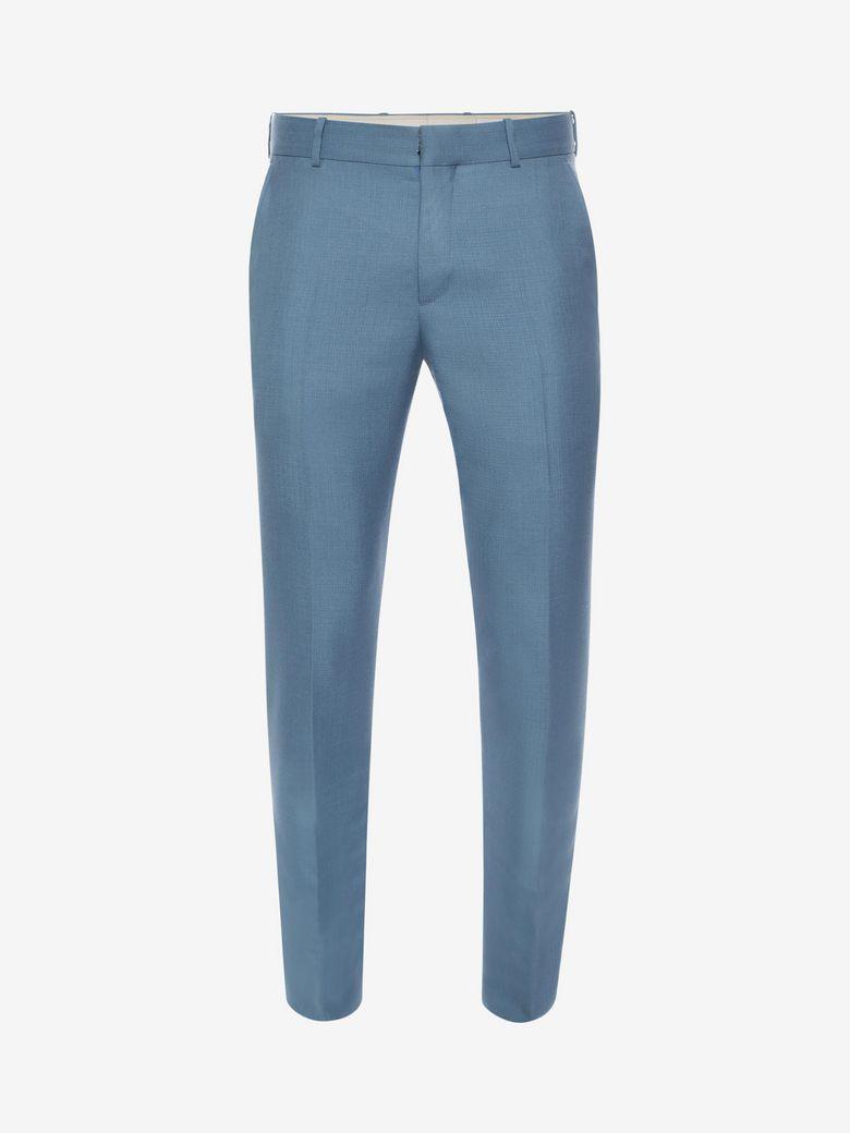 Alexander Mcqueen Mohair Silk Trousers