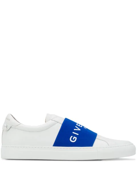Givenchy Strap Logo Sneakers In White