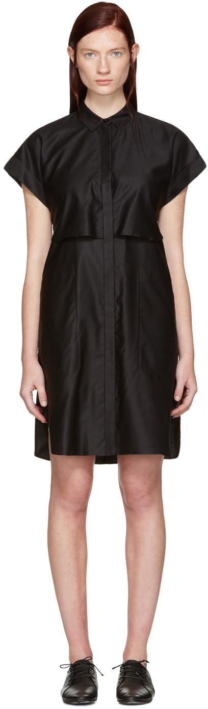Rag & Bone 'ara' Tie Back Shirt Dress