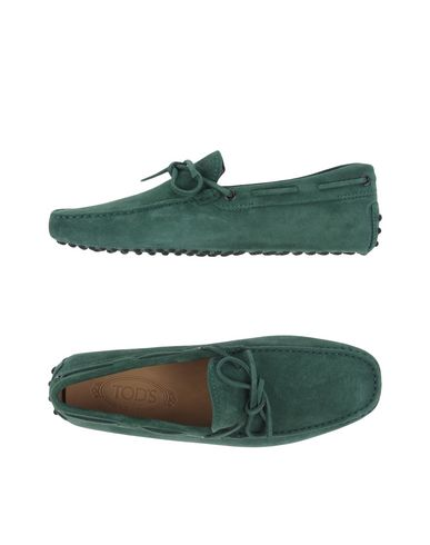 Tod's Loafers In Green