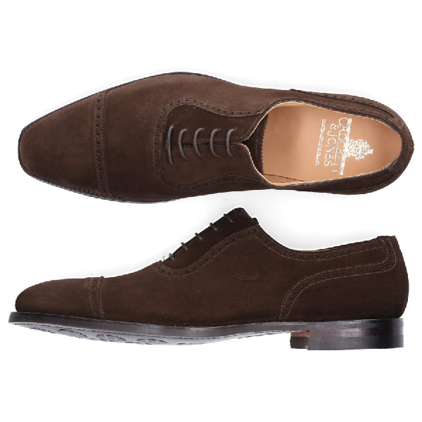 Crockett & Jones Business Shoes Budapester Westbourne In Brown