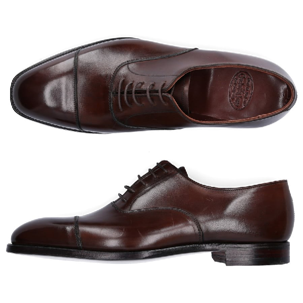 Crockett & Jones Business Shoes Oxford Audley In Brown