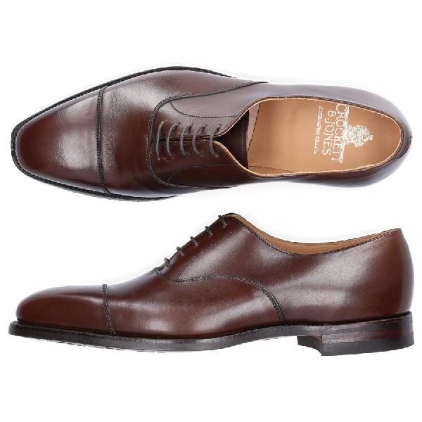 Crockett & Jones Business Shoes Oxford Hallam In Brown