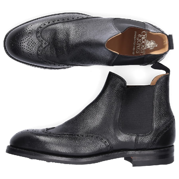 Crockett & Jones Chelsea Boots In Black