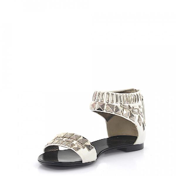 Giuseppe Zanotti Strappy Sandals In White