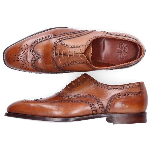 Crockett & Jones Business Shoes Oxford Clifford In Brown