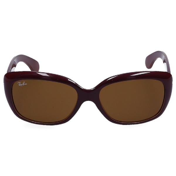 Ray Ban Women Sunglasses Rectangular 4101 Bordea Nylon Bordeaux